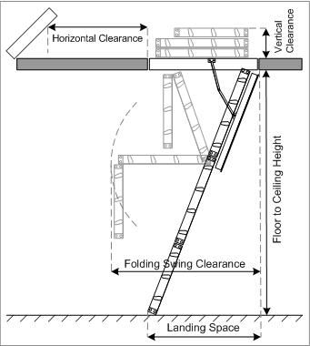 rhino attic ladder instructions